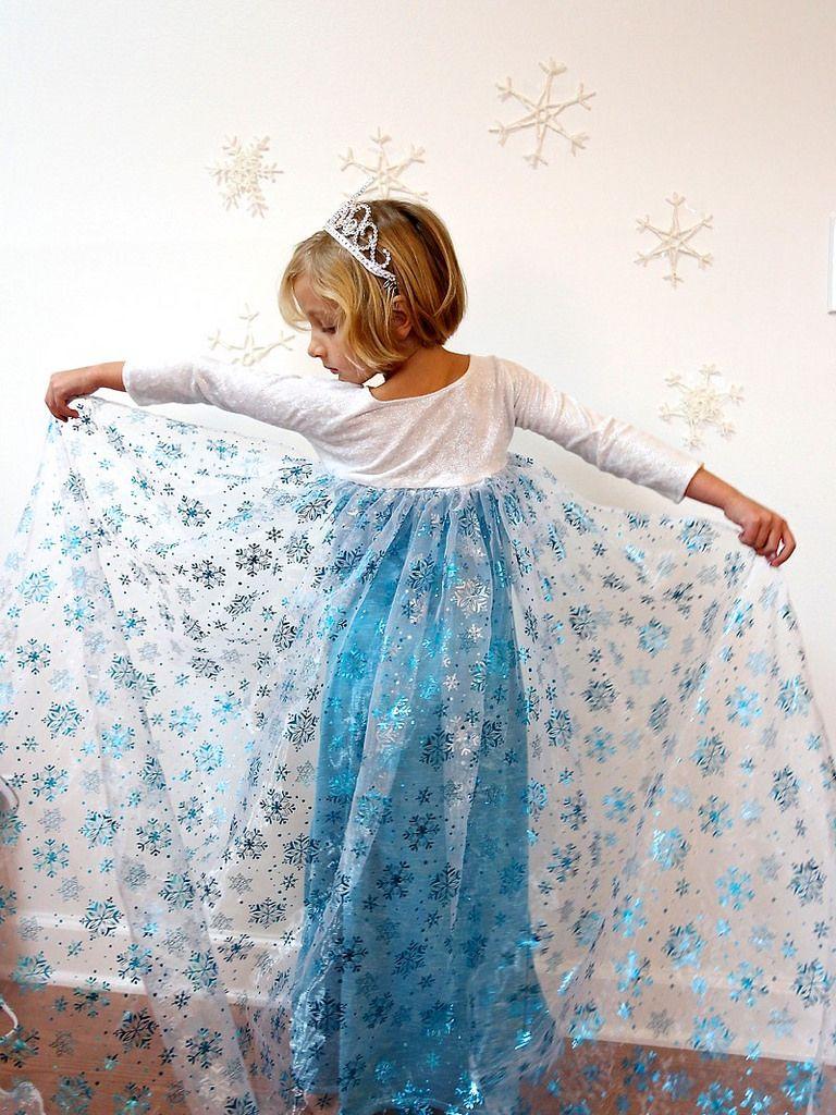 elsa dress for christmas sewing diy kids and toys kost m n hen eisprinzessin kost m. Black Bedroom Furniture Sets. Home Design Ideas