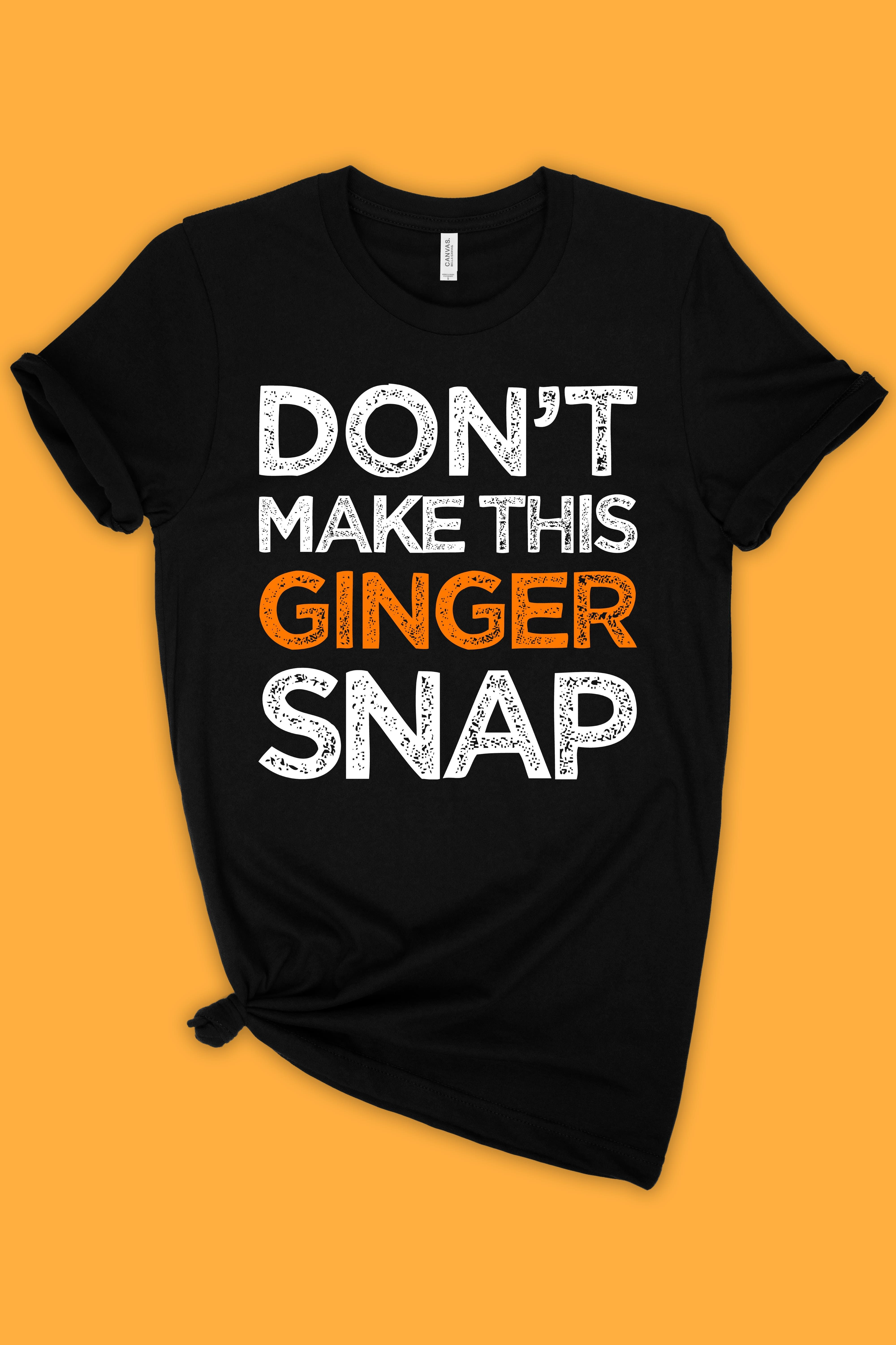 Funny T-Shirts For Women Sarcasm No One Knows I/'m Ginger Women/'s T-Shirt