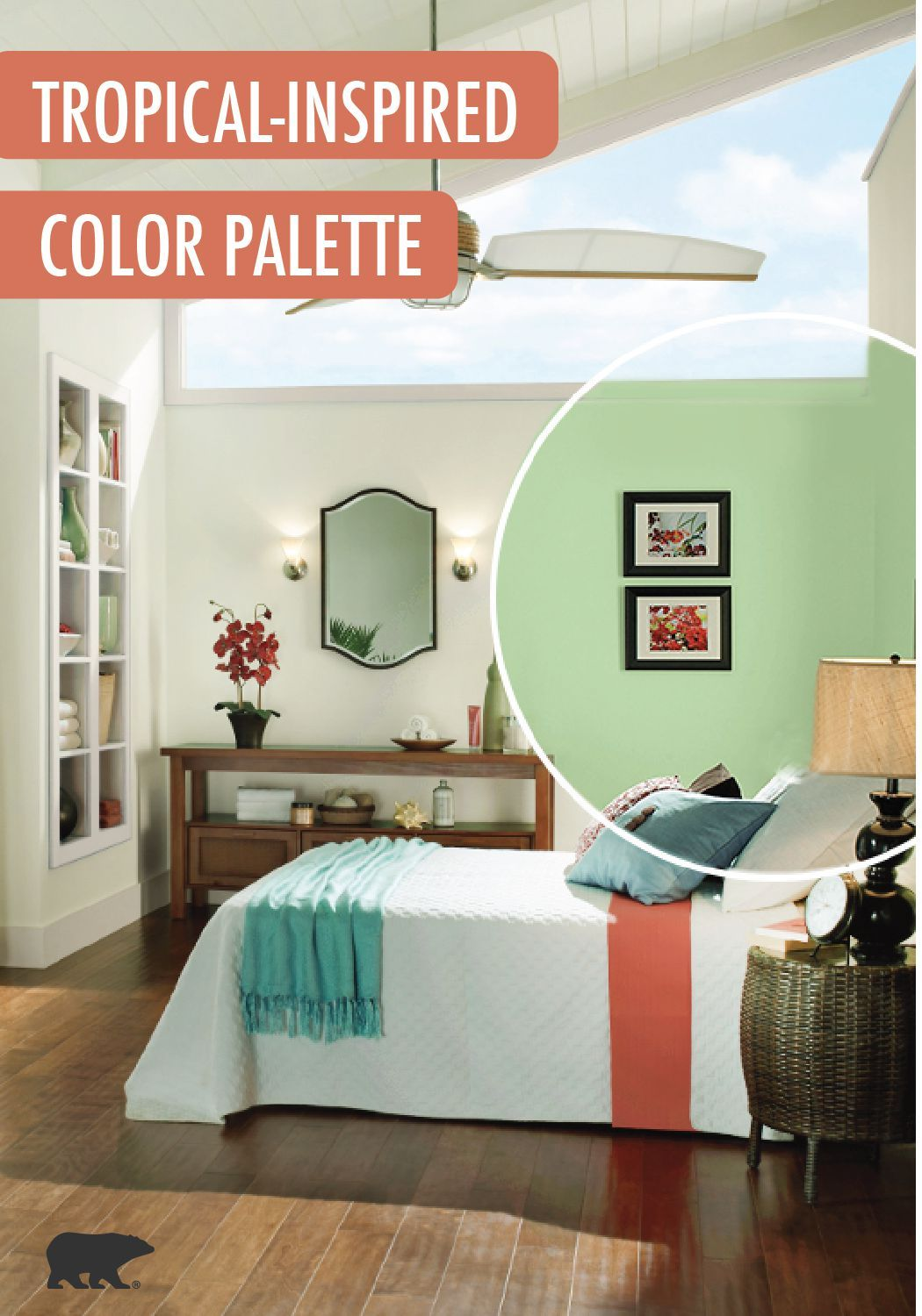 Love the thought of adding a splash of BEHR paint to your
