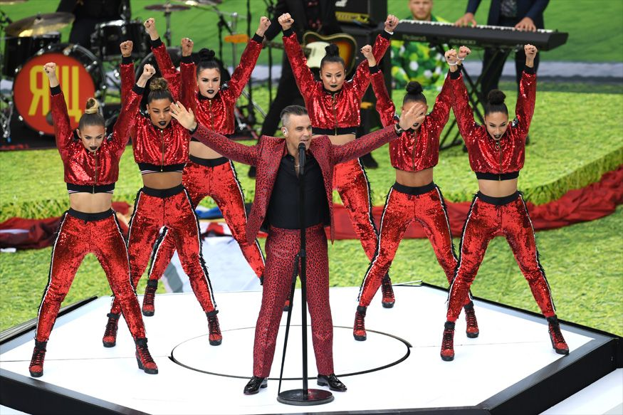 Fifa World Cup 2018 Opening Ceremony Highlights As It Happened Fifa World Cup Fifa World Cup