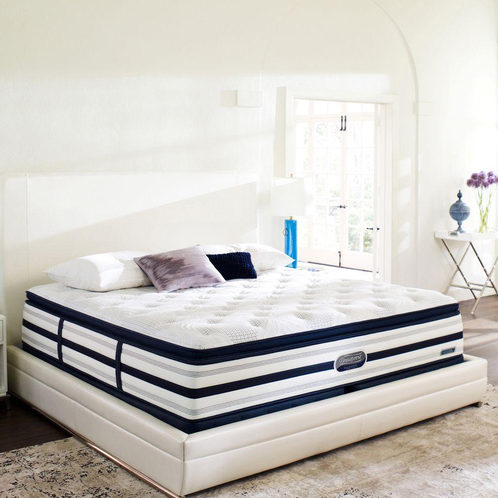 beautyrest recharge world class. Beautyrest Recharge World Class Sea Glen Plush Super Pillow Top King-size Mattress Set - I