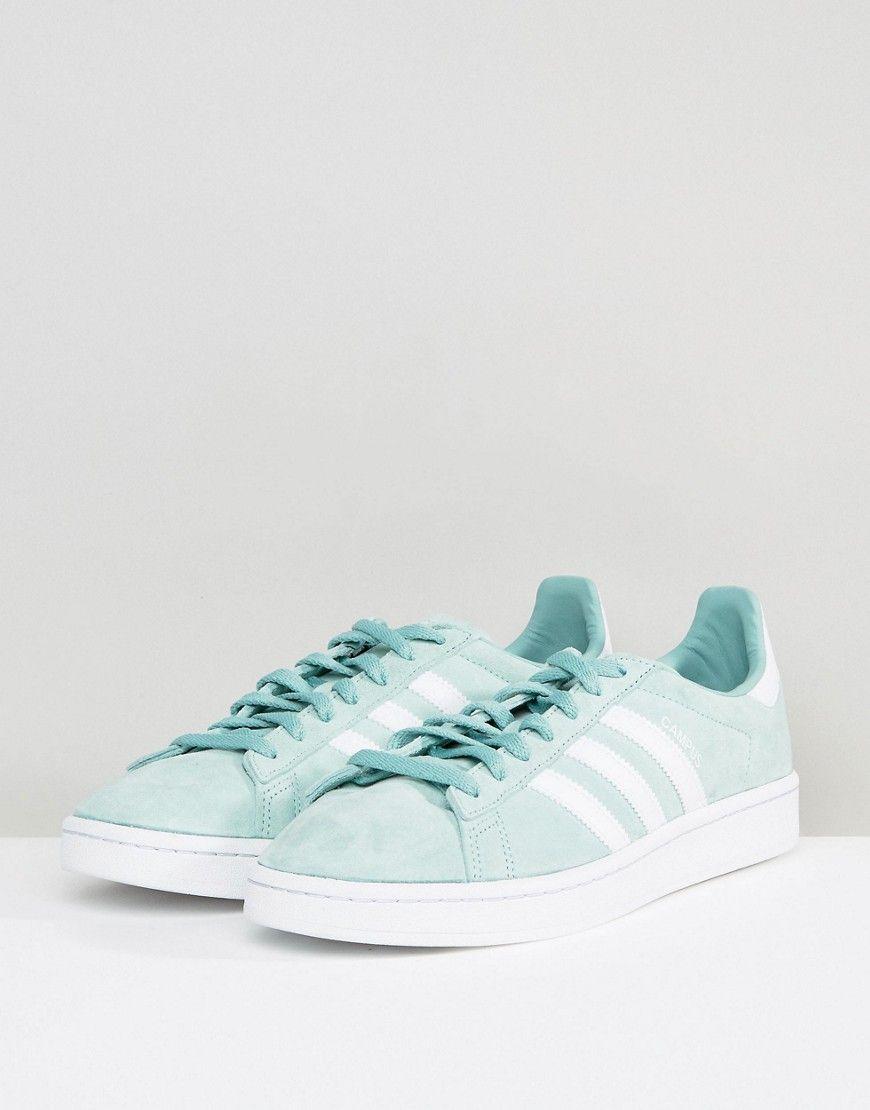 3bfe31381040 adidas Originals Campus Sneakers In Green BZ0082 - Green