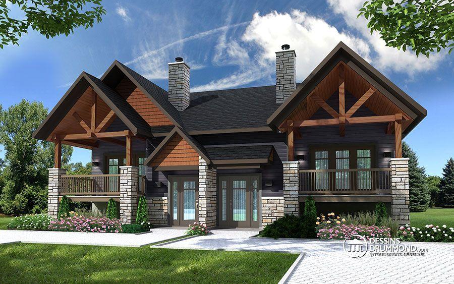 Détail du plan de Maison multi logements W3057 | craftman ...