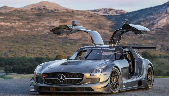 The Mercedes SLS is a seriously modern supercar, but they've styled it on one of the their most elegant sports cars from the sixties, the 300SL Gullwing.