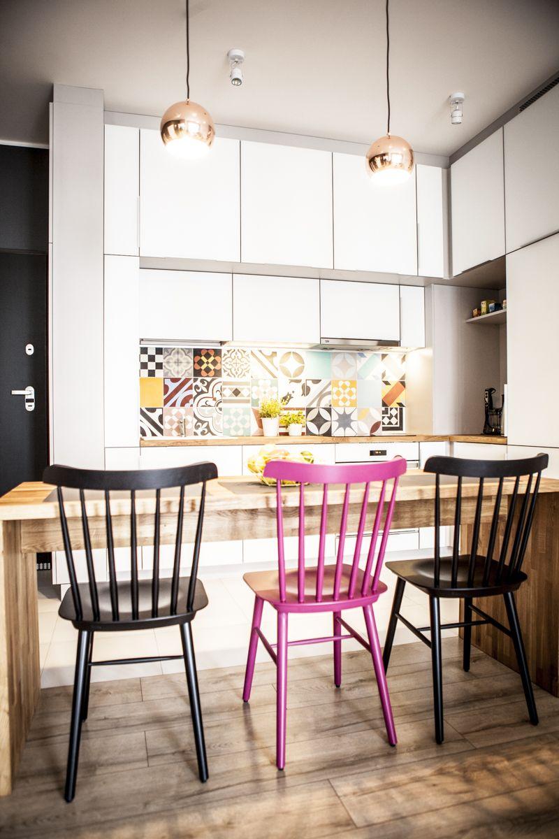 Kolorowa Mozaika W Nowoczesnej Kuchni Home Decor My Dream Home Decor