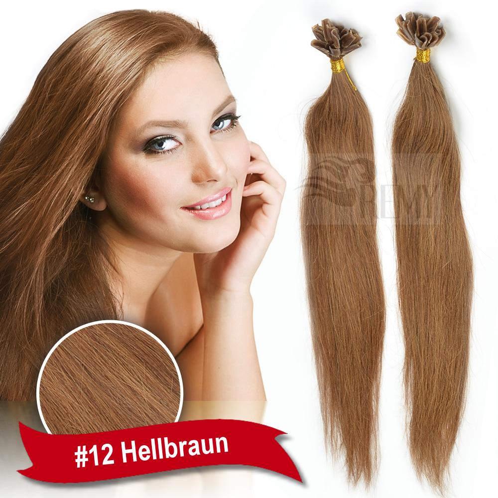 Top Keratin Bonding Hair Extensions 100 Remy Echthaar Str hnen  Haarverl ngerung Hair Extensions Top 354c038728