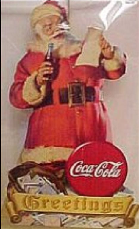 Pin On Coca Cola Santa