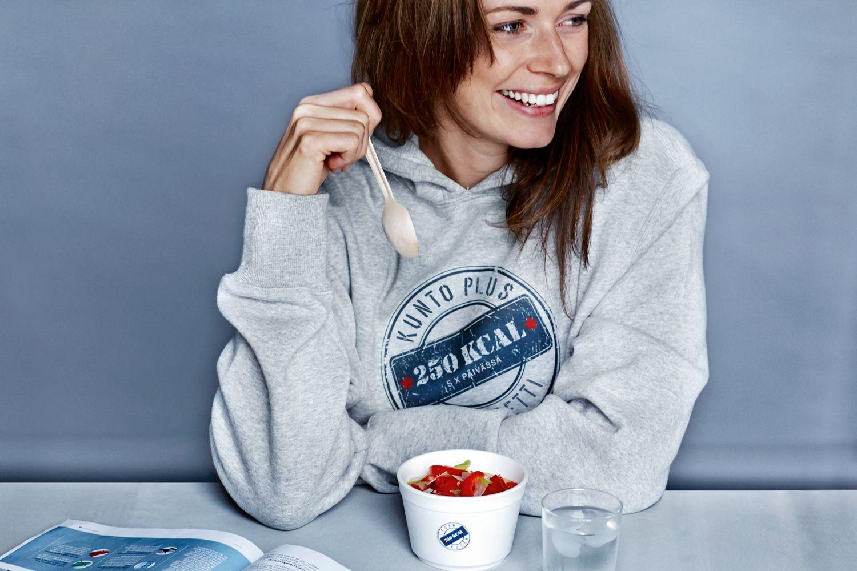 Päivä KUNTO PLUS -dieetillä Viitenä päivänä viikosta syödään 5 x 250 kcal ateriat. Kokeile päivän ajan http://kuntoplus.fi/laihdutus/painonhallinta/paiva-kunto-plus-dieetilla