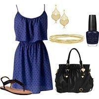 Blue and Black Nice Combinations