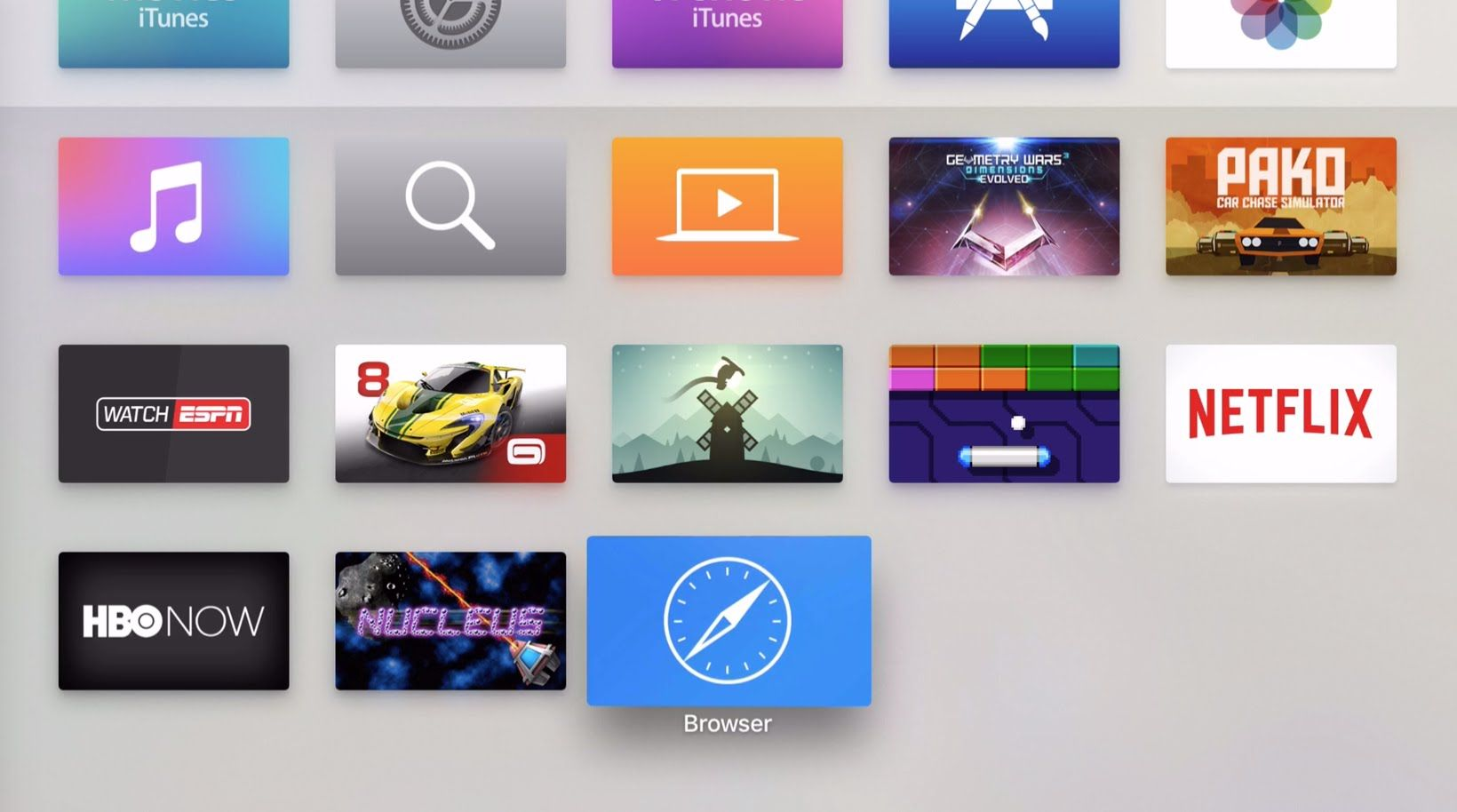 How To Install A Web Browser On Apple Tv Apple Tv Web Browser
