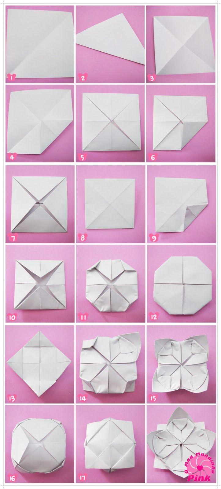 Resultado De Imagem Para Origami De Flor De Lotus Paper Butterfly Origami Crafts Lotus Origami