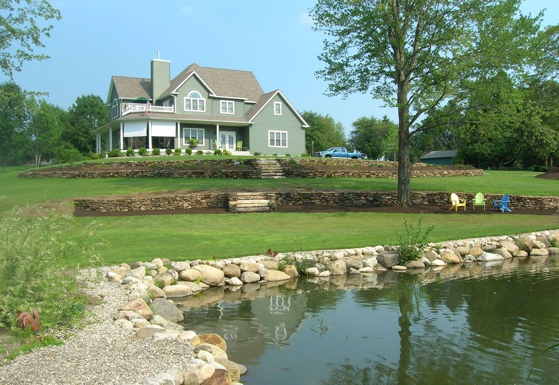 Mountain living landscaping llc home stone garden walls