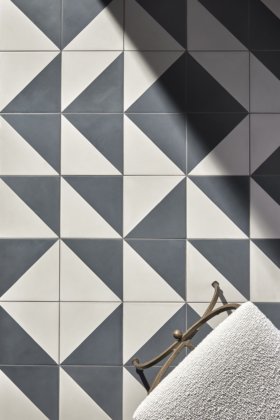 Promenade Decorative Field Tile Dash Geometric Tiles Bathroom