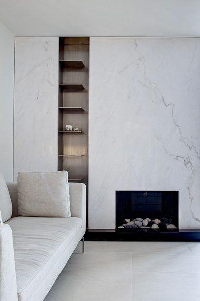 Marble Fireplace Fireplace Design Modern Fireplace Minimalism
