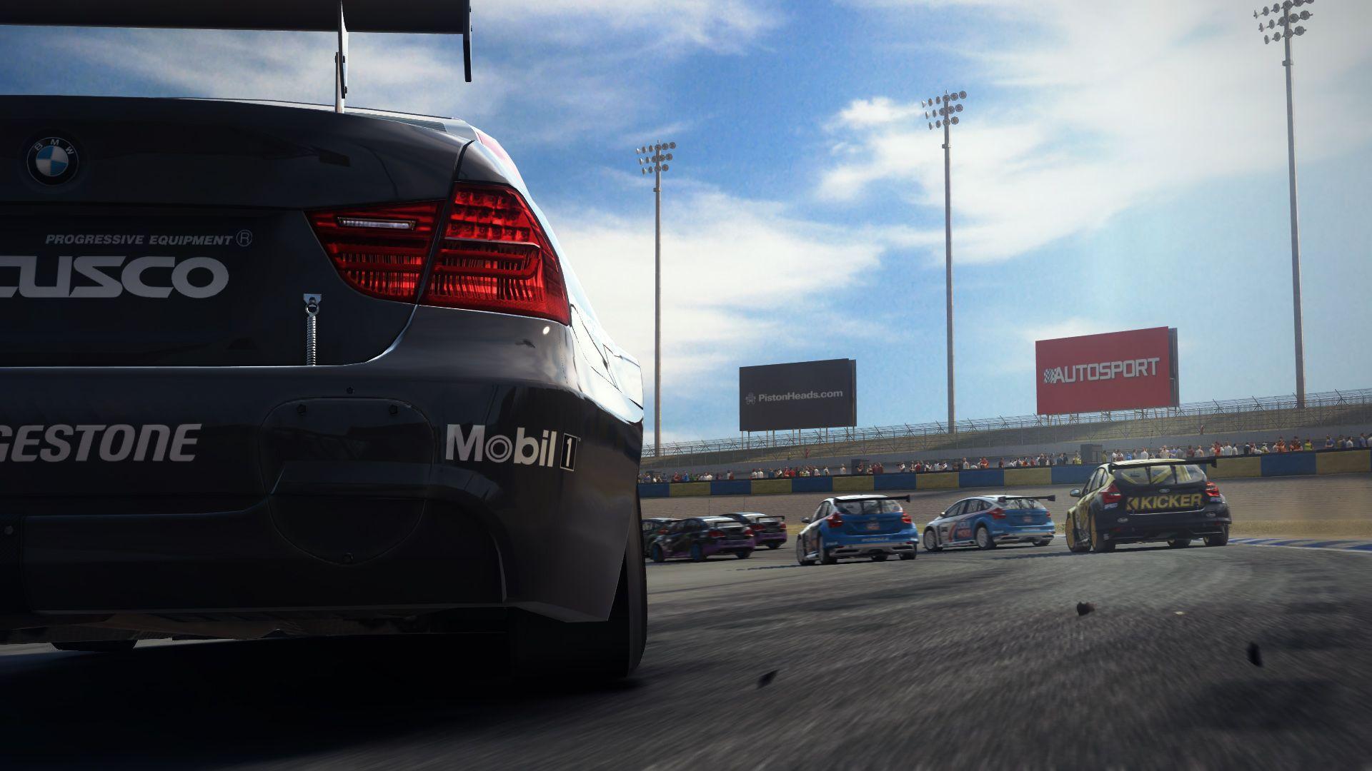GRID AUTOSPORT racing race auto game action openwheel tuning