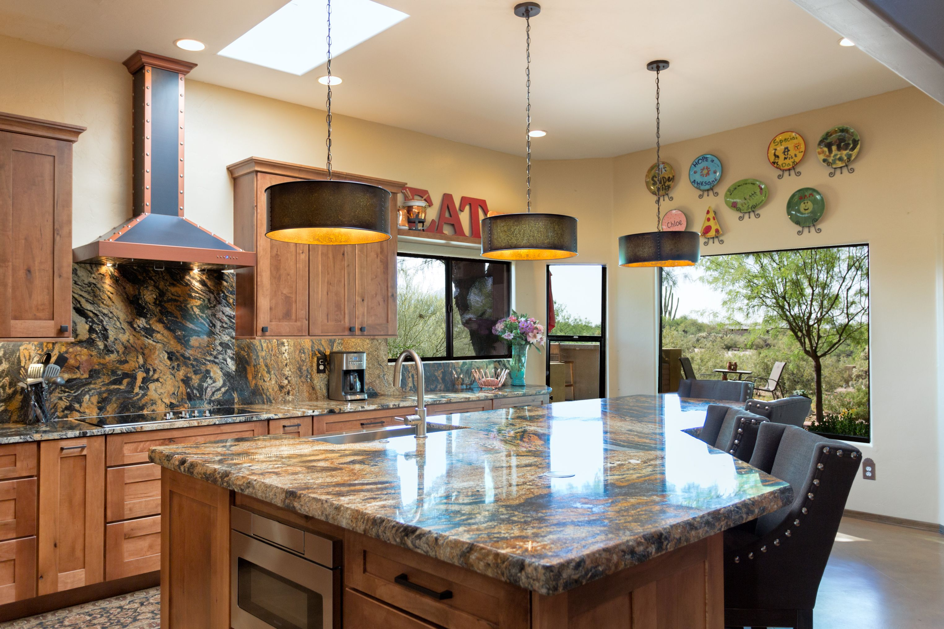 This Tucson kitchen remodel was a beautiful one. The warm earth ...