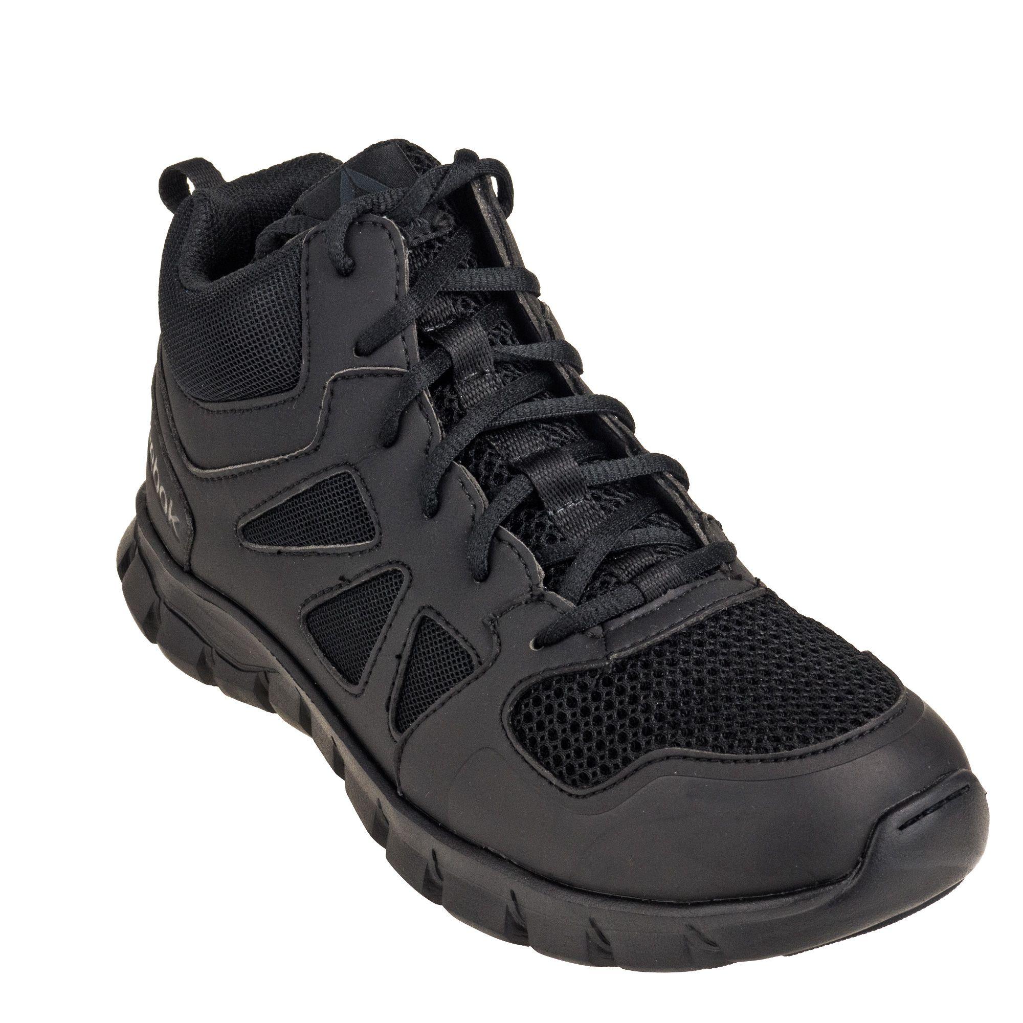 "RB8806 Reebok Men/'s Sublite Cushion Tactical Waterproof 8/"" Black Boots"