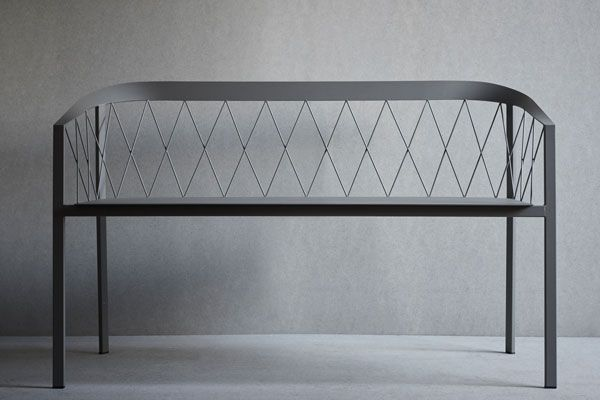 Our Bench Net Use It Both Indoors And Outdoors From Danish Brand Friends Founders Furniture Bench Dining Bench