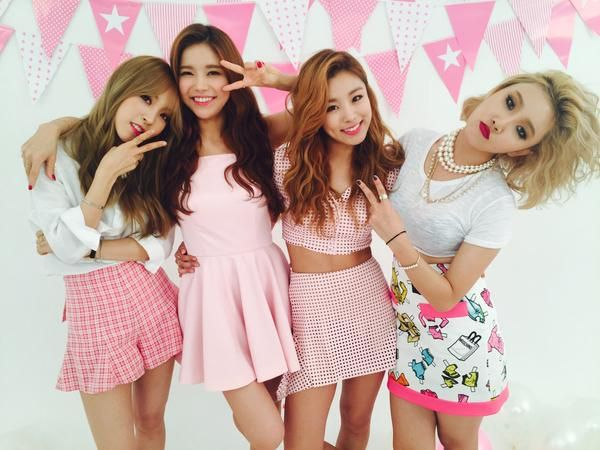 Mamamoo Girl Crush MV shoot