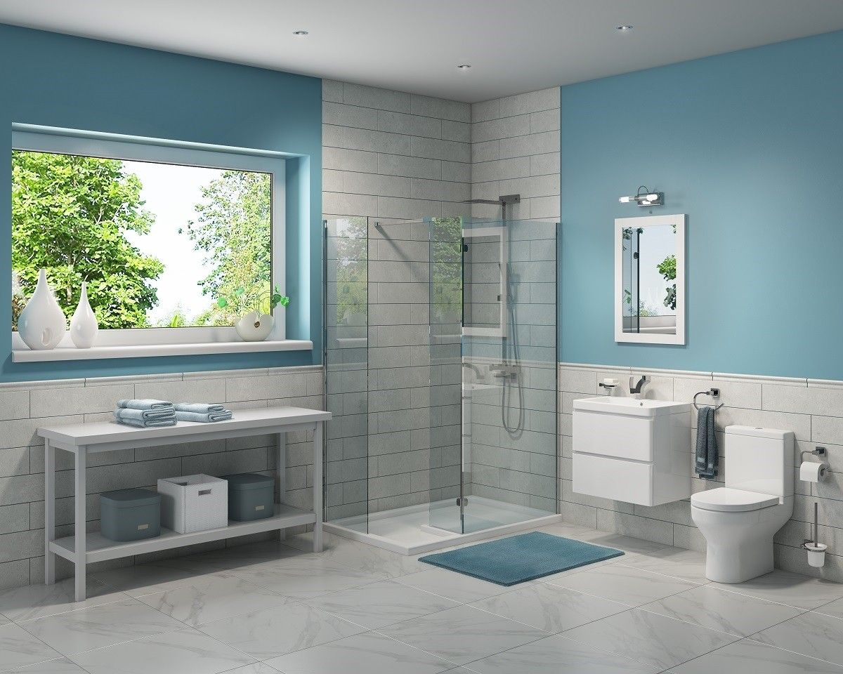 Synergy Chelsea Modern Configurable Bathroom Suite ...