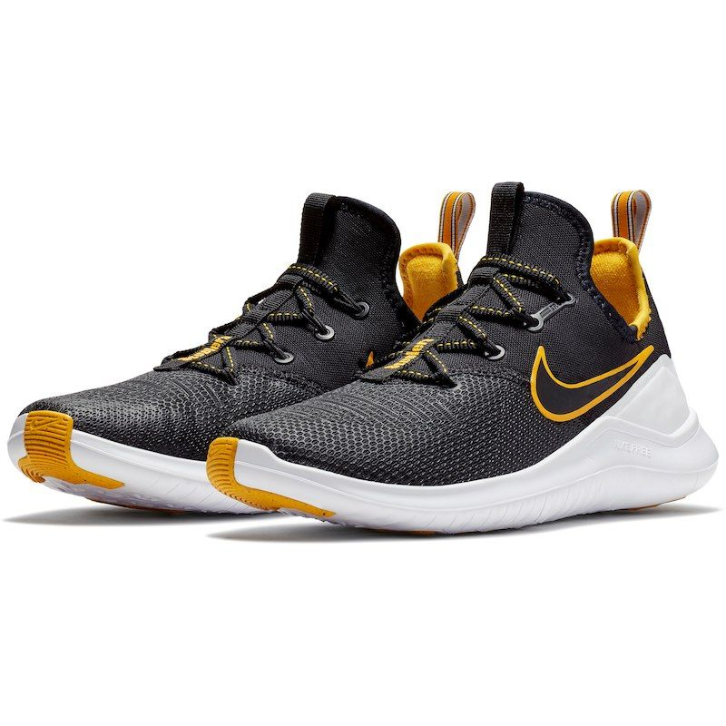 bb0dd24a3ce Pittsburgh steelers nike womens free shoes black gold jpg 800x800 Nfl gold  shoes