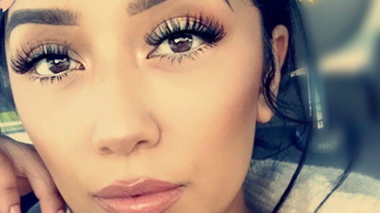 How To Apply False Lashes Without Eyeliner Tips Tricks Youtube