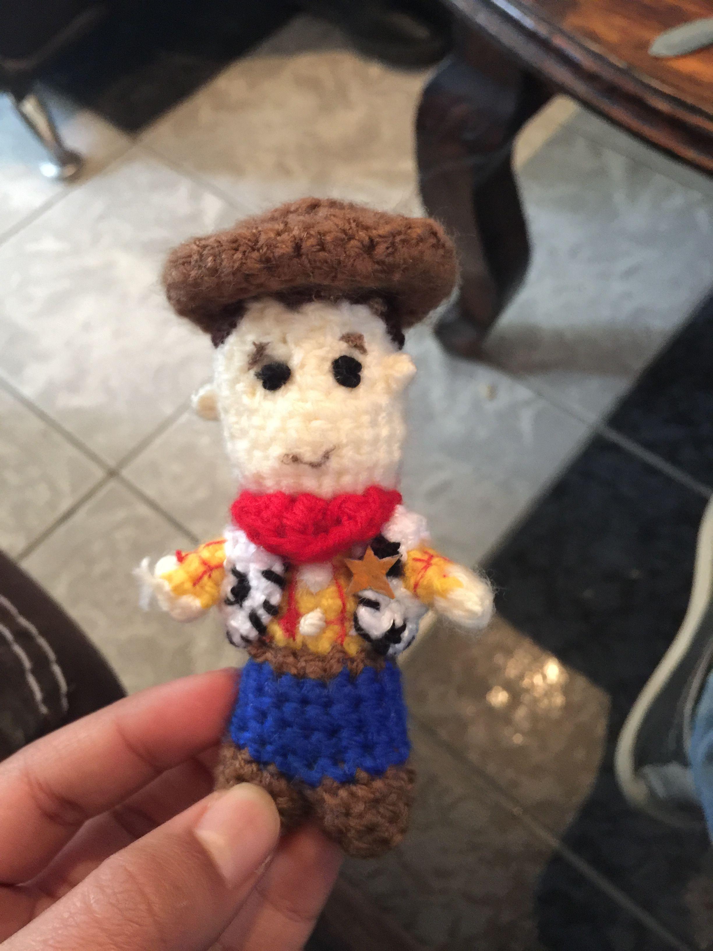 Woody Tejido a Crochet