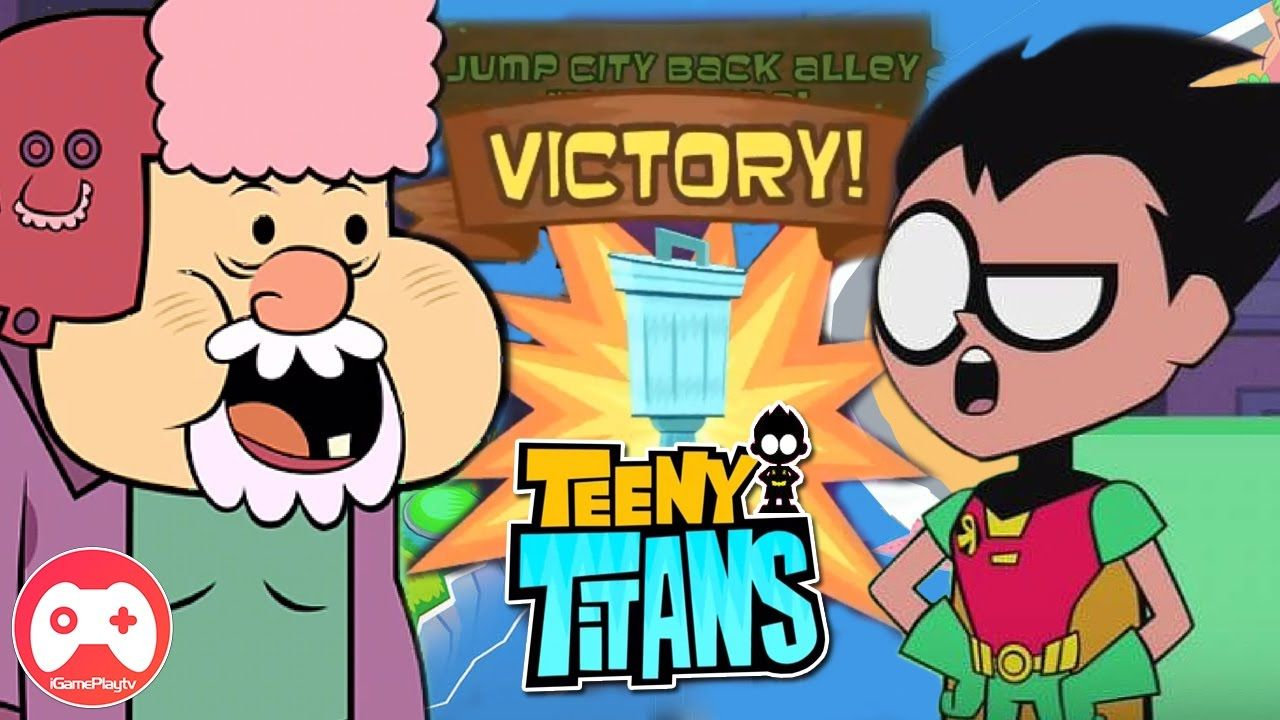 Teeny Titans Jump City Back Alley Invitational