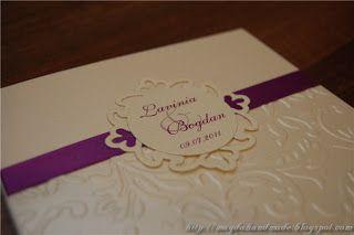 Lavinia Wedding Invitation.