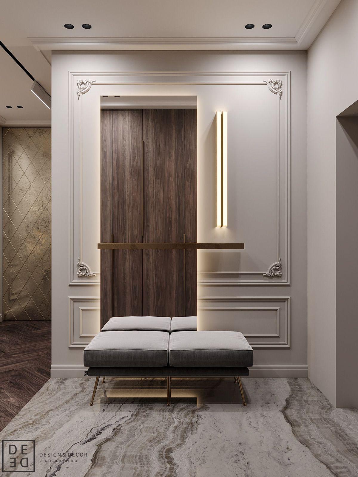 De De Blueberry Flat On Behance Foyer Design Luxury Home Decor