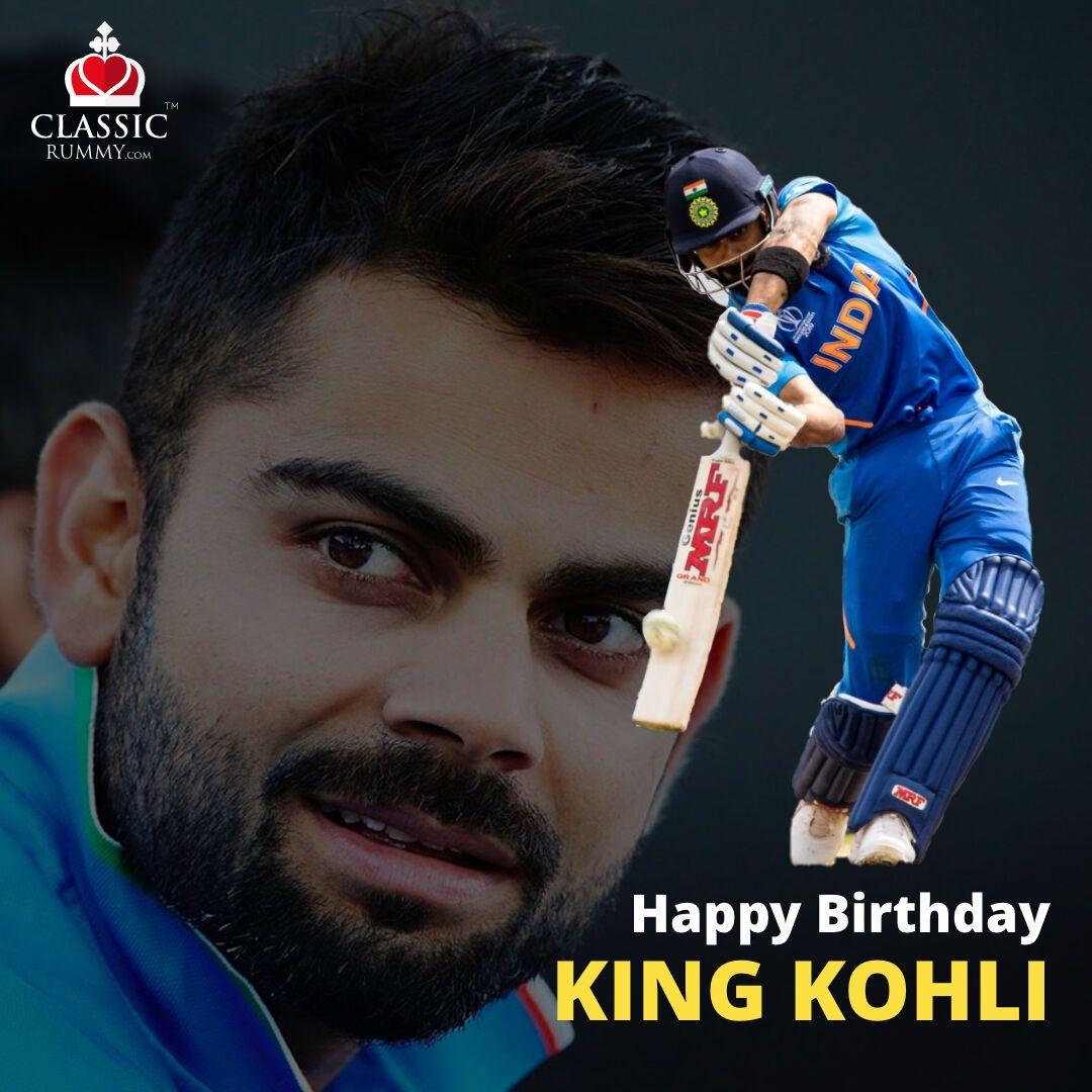 Here's wishing India's runmachine King of cricket Virat