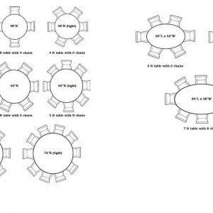 Merveilleux 8 Person Round Table Measurements Http Capturecardiff