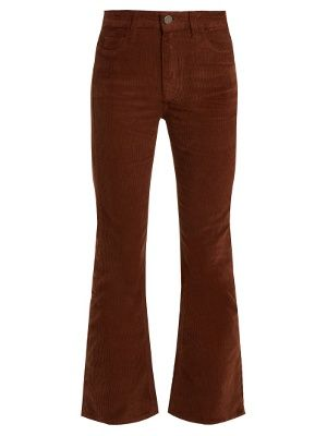 1acd51facf25d6 Marty mid-rise kick-flare corduroy trousers