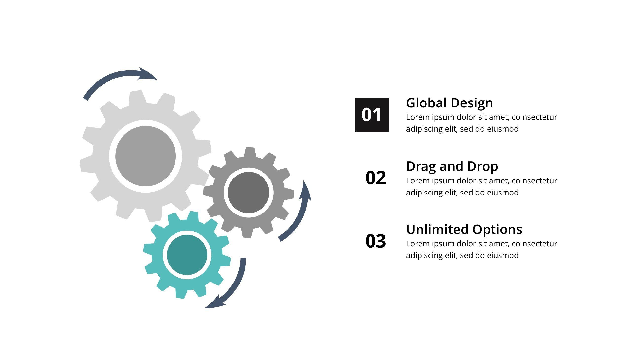Triangle Minimal & Creative Google Slide Template