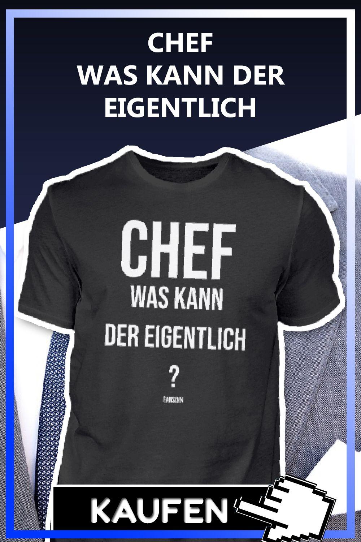 Chef Boss Arbeit Beruf Lustiger Spruch in 2020   Geschenke ...