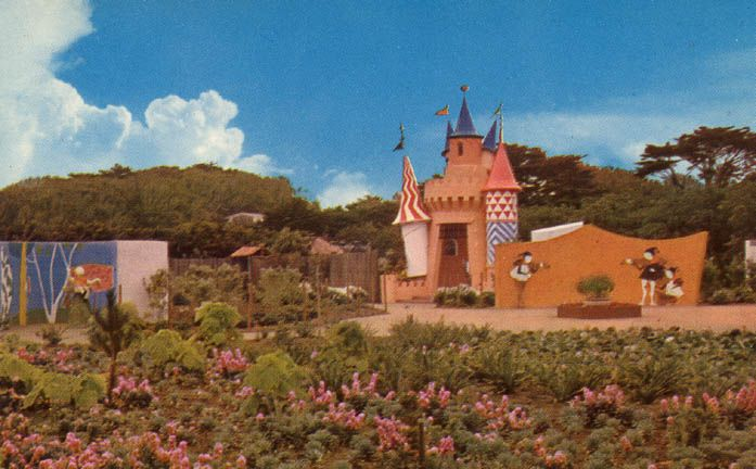Storyland, San Francisco's version of Oakland's Fairyland, was once next to the zoo. Now it's gone.