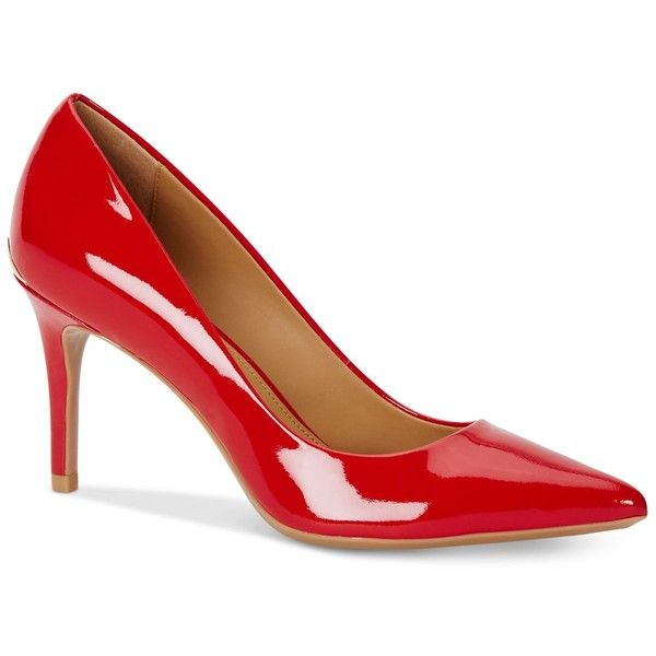 b5fbb18e729 Calvin Klein Women's Gayle Pointed Toe Pumps ($99) ❤ liked on ...