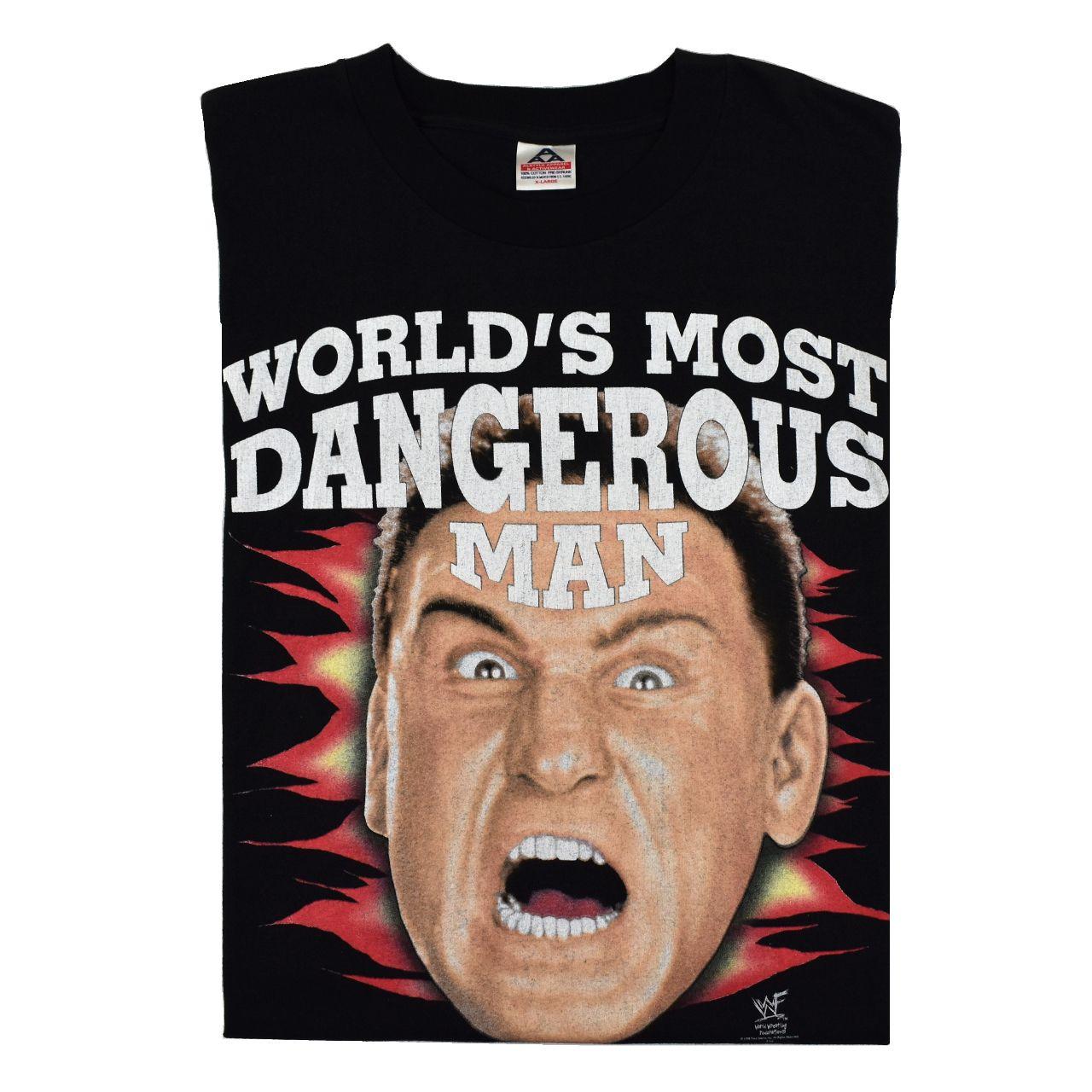 Ken Shamrock Character: 1998 KEN SHAMROCK The World's Most Dangerous Man Vintage W