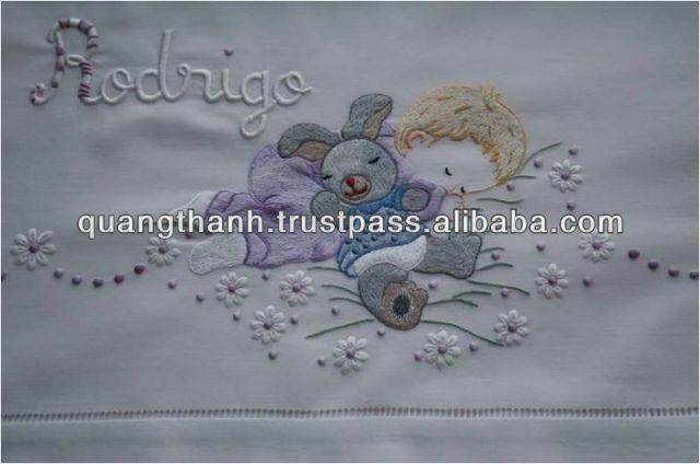 imagenes de sabanitas bordadas para bebe - Buscar con Google