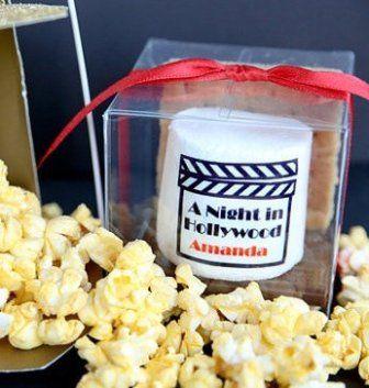 Movie Themed Wedding Ideas Favors