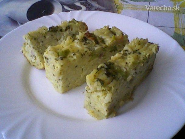 Zapekané cestoviny s brokolicou a syrom - Recept