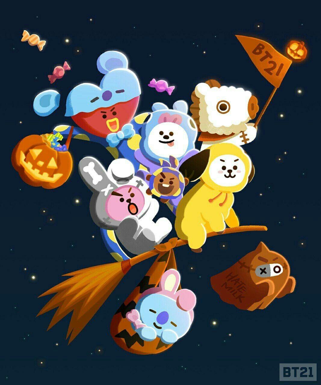 Bt21 Halloween Costume Bts Halloween Bts Chibi Cute Wallpapers