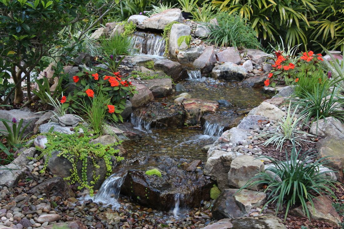Pondless Waterfall Ormond Beach Central Florida Water
