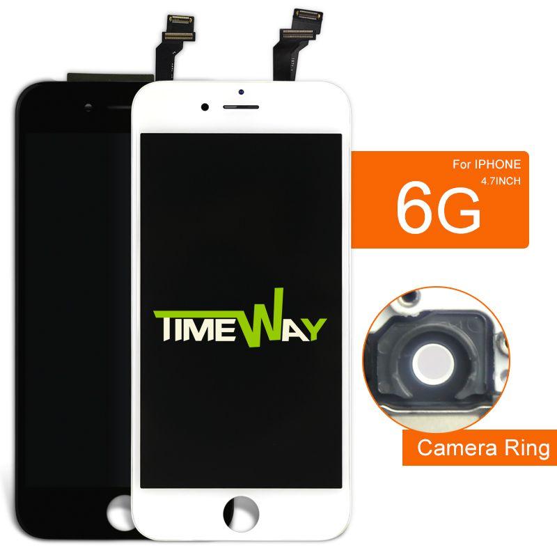 10 개 대한 iphone 6 lcd dispaly 전체 어셈블리 교체 렌즈 pantalla 알리바바 중국 highscreen 등 + 카메라 홀더