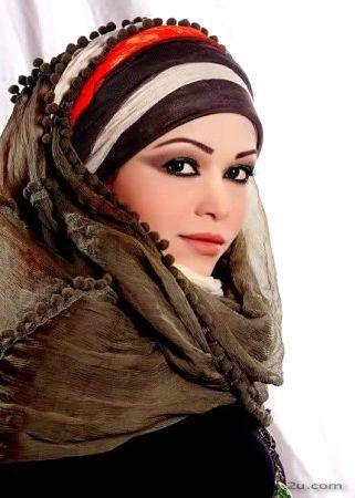 لفات حجاب بالصور طريقة اجمل لفات الحجاب Head And Neck Beauty Veil