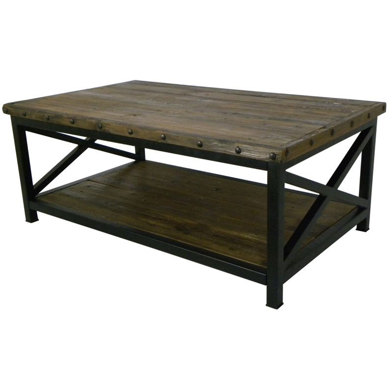 Denis Coffee Table Coffee Table Industrial Coffee Table Table