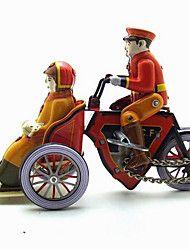 Toy Novelty / Brinquedos de Faz de Conta / Puzzle brinquedo / Brinquedos de Corda Toy Novelty / / Motocicletas / Moto Metal AmareloPara
