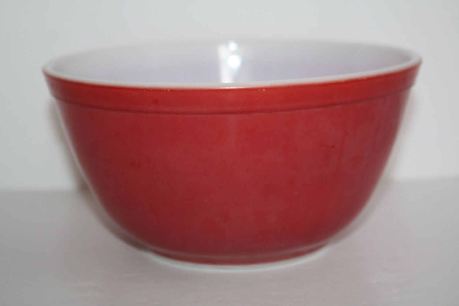 Vintage Red Pyrex Mixing Bowl 402 1 1/2 Qt/Pyrex Mixing Bowl/Primary ...
