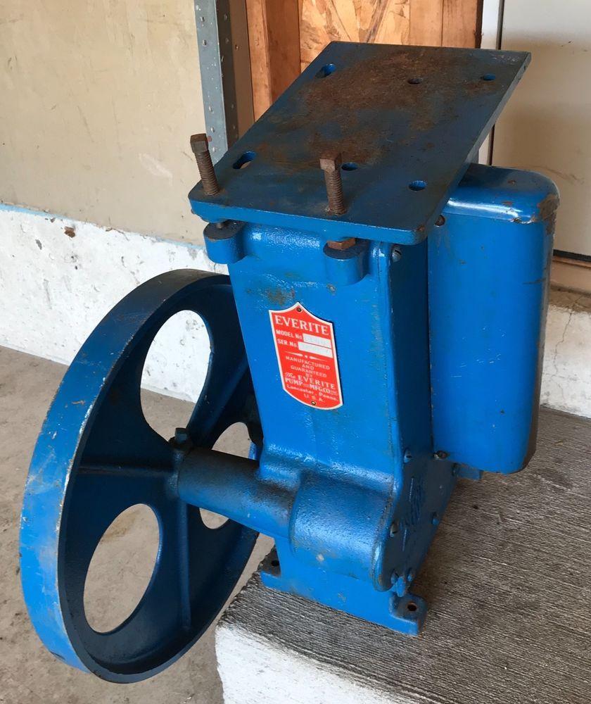 Everite 1100 Well Water Pump Jack 6 Stroke 14 Belt Drive Wheel Motor Mount Usa Belt Drive Water Pumps Water Well