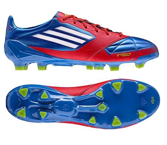 buy popular a5286 01881 ... adidas f50 adizero trx fg leather firm ground mens soccer cleats(prime  blue white energy